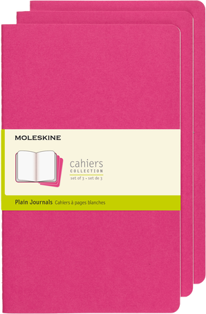 Cahier Journals CAHIER JNLS LG PLA KINETIC PINK