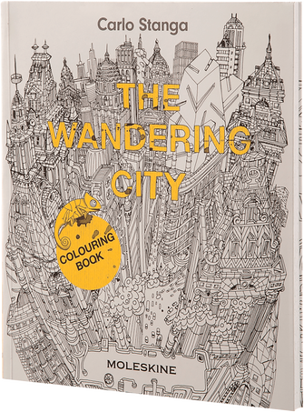The Wandering City WANDERING CITY COLOURING BOOK