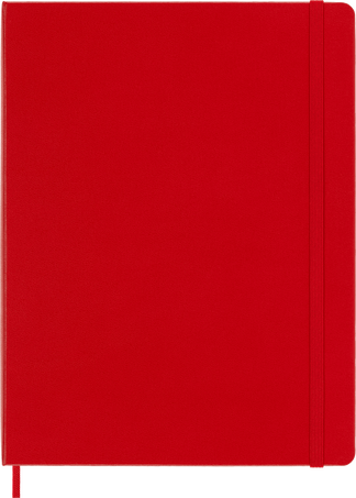 Classic Notebook NOTEBOOK XL RUL S.RED HARD
