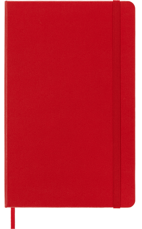 Classic Planner 18M WKLY NTBK LG S.RED HARD