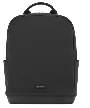 The Backpack - Soft-Touch PU THE BACKPACK SOFT TOUCH PU BLACK