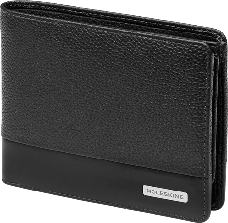 Horizontal Wallet with Coin Holder and Flap CL. MATCH LTH HOR WALLET+COIN+FLAP BLK