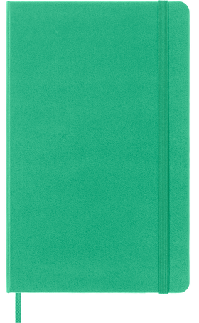 Classic Planner 18M WKLY NTBK LG ICE GREEN HARD