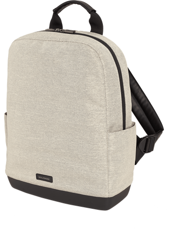 Backpack - Canvas THE BACKPACK CANVAS SHELL WHITE