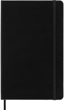 Classic Planner 18M DAILY LG BLK HARD