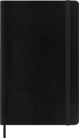 Classic Planner 18M DAILY LG BLK SOFT
