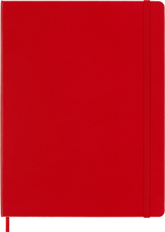 Classic Notebook NOTEBOOK XL PLA S.RED HARD